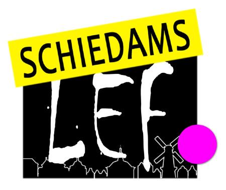 Logo Schiedams LEF